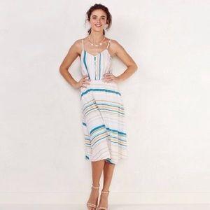 LC Lauren Conrad Midi Beach dress